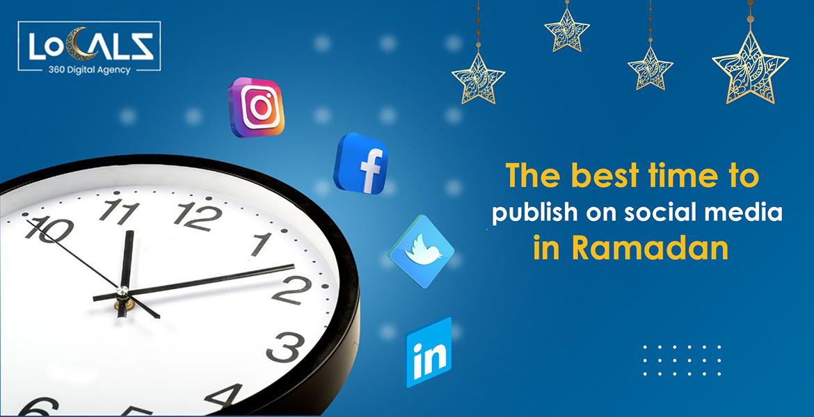 The best time to publish on social media in Ramadan
