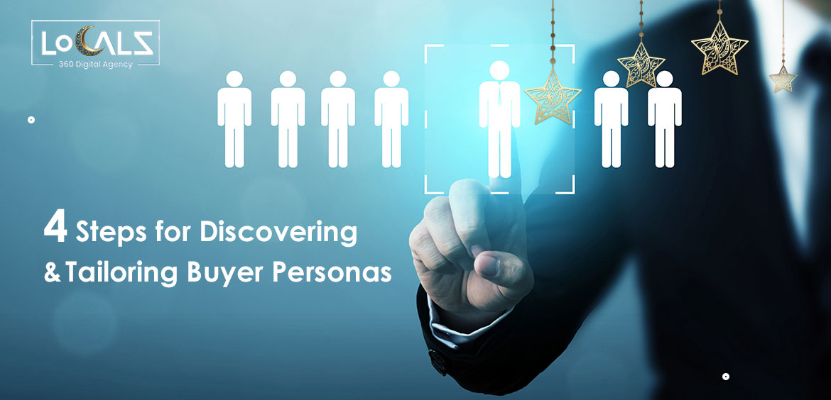 You are 4 steps away from discovering & tailoring your buyer personas